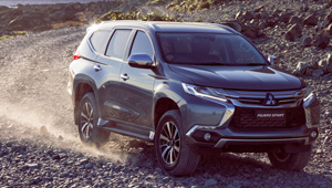 Pajero Sport 4WD is not a badge, it's a promise.