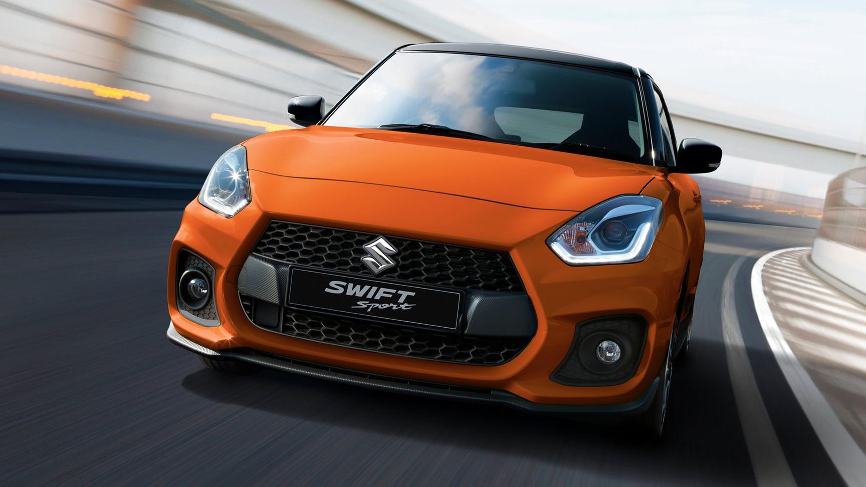 Swift Sport It's like driving a powerful, zippy, sexy metaphor