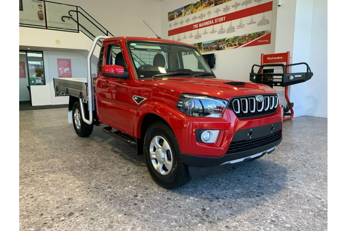 2021 Mahindra Pik-Up MY21 S6+ 4x2 With GPA Tray Cab chassis