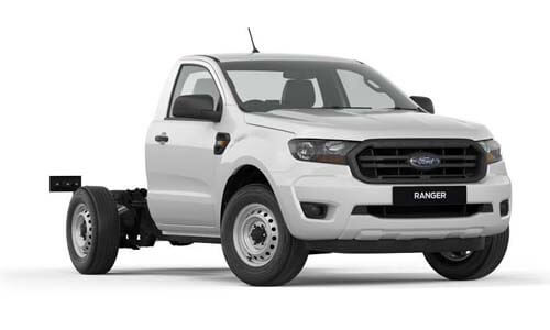 2019 MY19.75 Ford Ranger PX MkIII 4x2 XL Single Cab Chassis Low-Rider Cab chassis