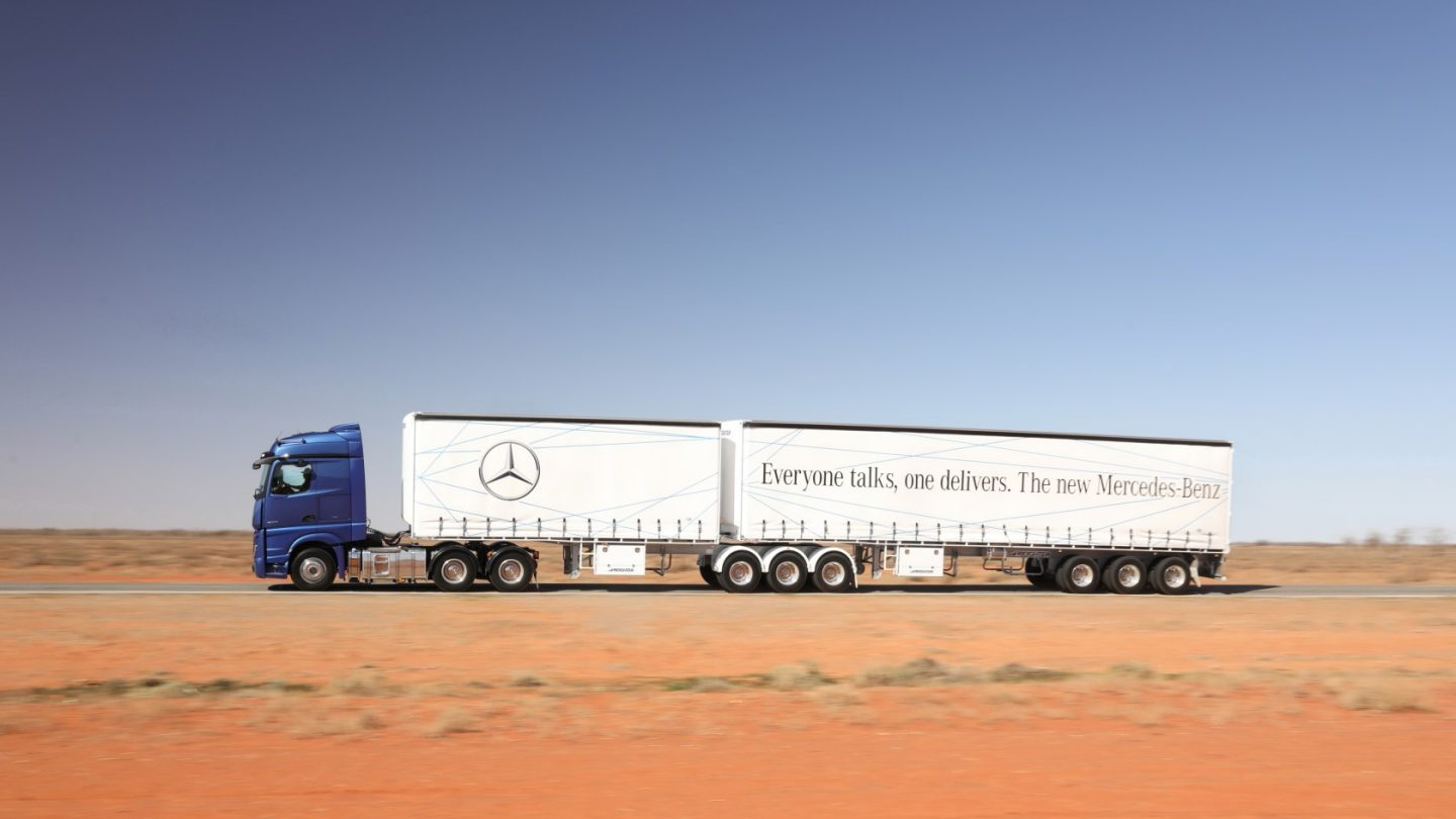 The New Actros Genuine Accessories.