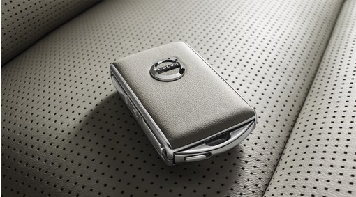 Remote key fob shell - leather