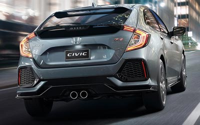 Civic Hatch Sporty Styling