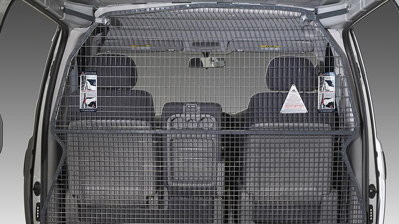 Cargo barrier (single position airbag compatible).