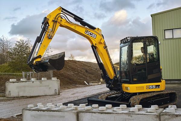 2021 JCB 55Z-1 Excavator (No Series) 55Z-1 Excavator