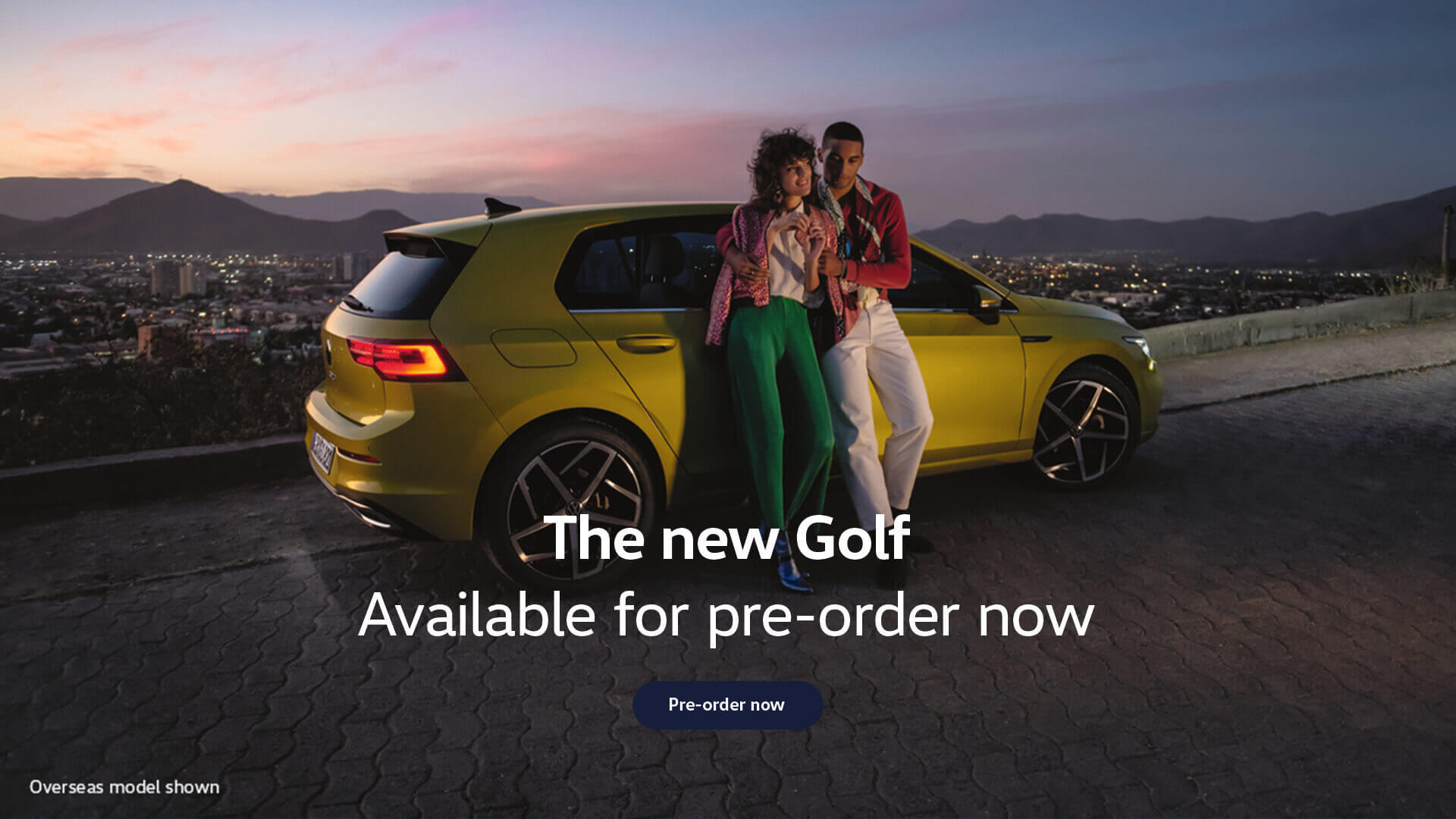 The new Volkswagen Gold. Available for pre-order now