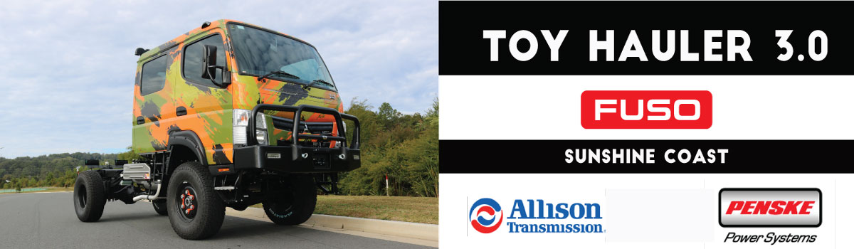 TOY HAULER 3.0 - ALLISON AUTO ORDER TODAY FOR FEB 2022 DELIVERY