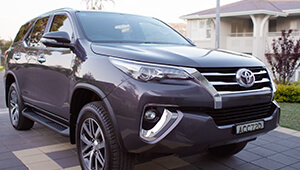 Fortuner Built for action