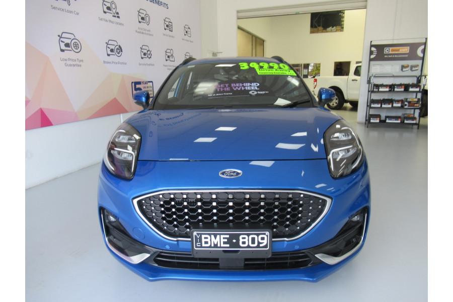 2020 MY21.25 (under construction) Ford Puma JK ST-Line V Suv