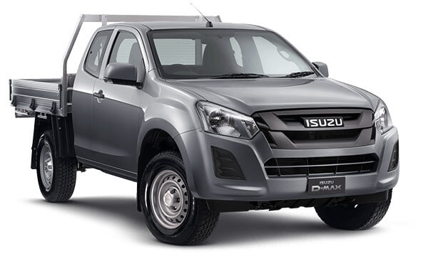 2020 MY19 Isuzu UTE D-MAX SX Space Cab Chassis 4x4 Space cab