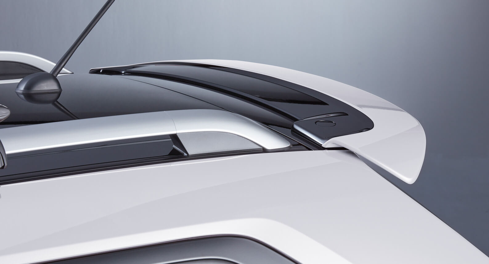 Ignis - Roof Edge Spoiler, Pure White