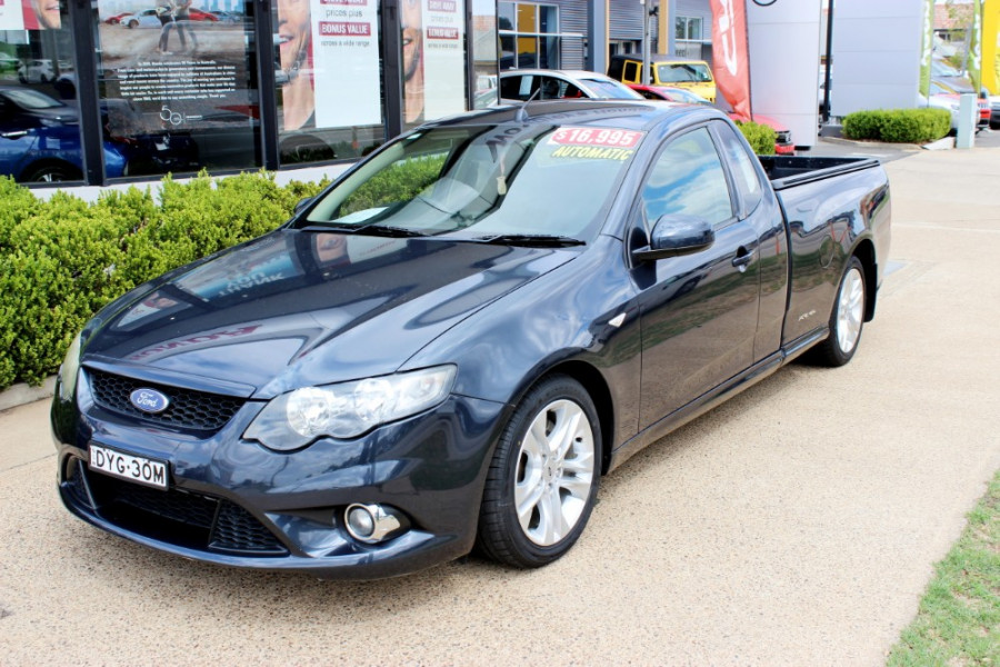 2010 Ford Falcon FG XR6 Utility - extended cab