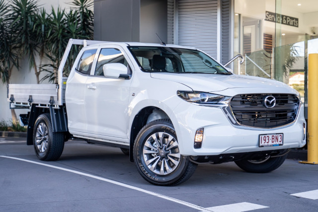 2021 Mazda BT-50 TF XT 4x2 Freestyle Cab Chassis Cab chassis