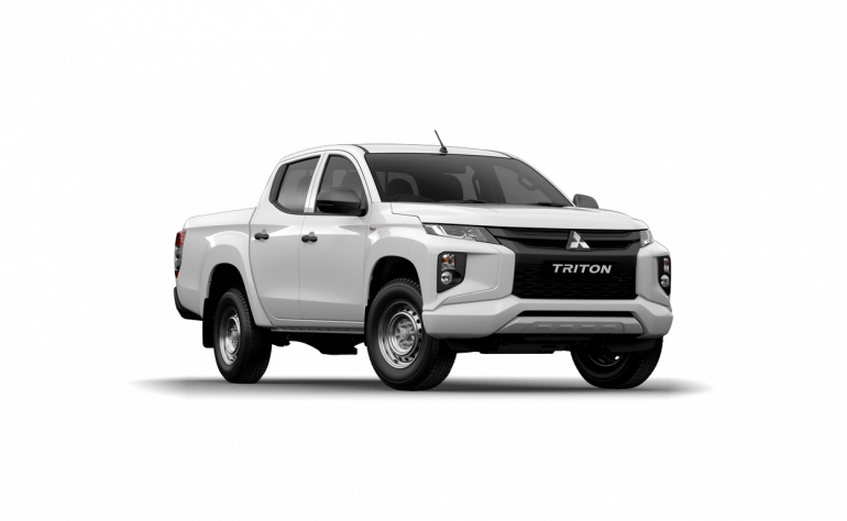 2020 MY21 Mitsubishi Triton MR GLX Double Cab Pick Up 4WD Dual cab Image 1