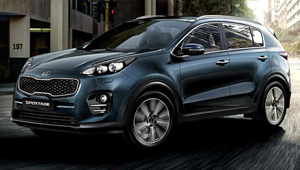 Sportage Say Hello to All-New Style
