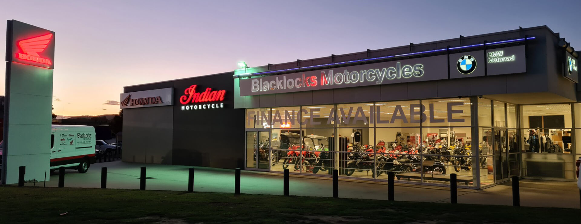 Find out more about Blacklocks Motorcycles
