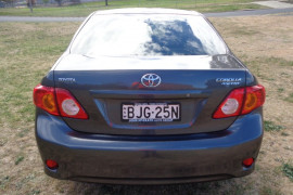 2009 Toyota Corolla ZRE152R Ascent Sedan