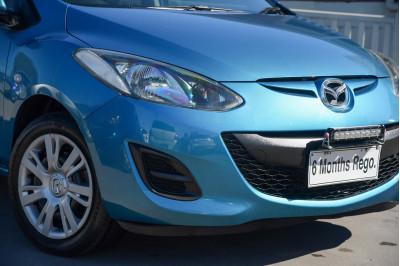 2011 Mazda 2 DE Series 1 MY10 Neo Hatchback Image 4