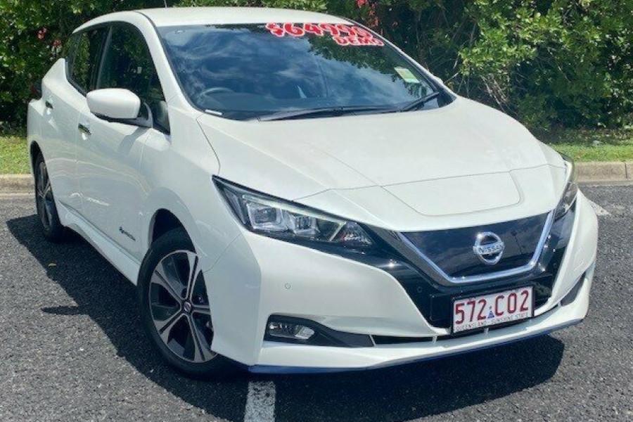 2021 Nissan LEAF ZE1 E Plus Hatchback Image 1