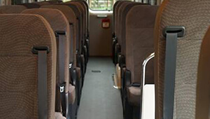 Coaster Spacious interior