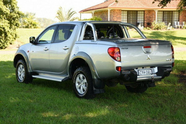 2008 Mitsubishi Triton ML MY08 GLX-R Utility Image 4