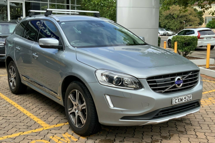 2015 Volvo XC60 DZ MY15 D5 Geartronic AWD Luxury Suv