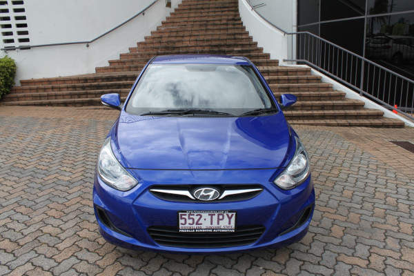 2013 Hyundai Accent RB Active Hatch