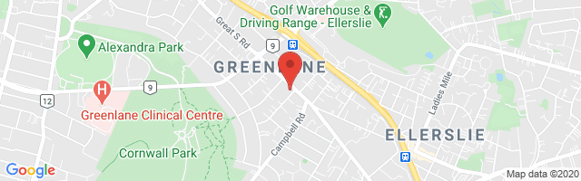 Tristram MG Greenlane Map