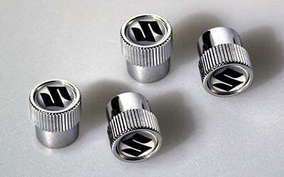 Valve Cap Set With S-Logo
