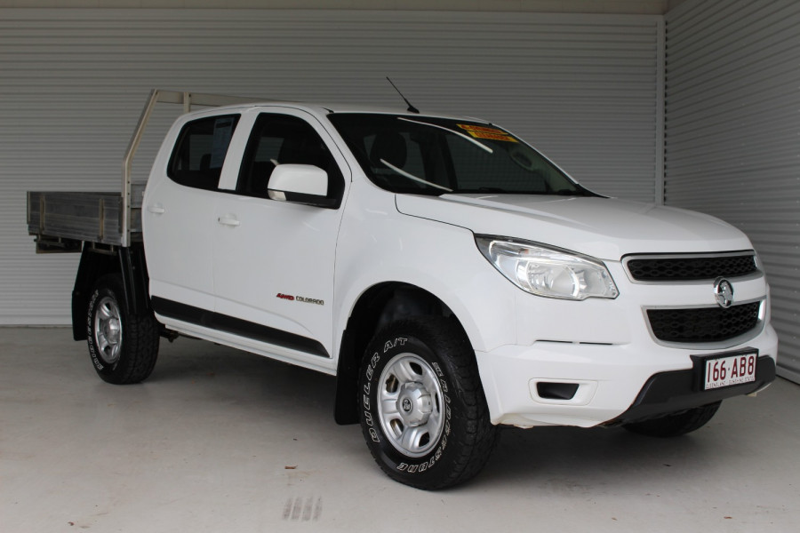 2016 Holden Colorado RG MY16 LS Cab chassis Image 1