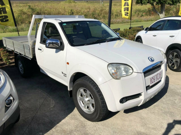 2010 Great Wall V240 K2 (4x4) Cab chassis