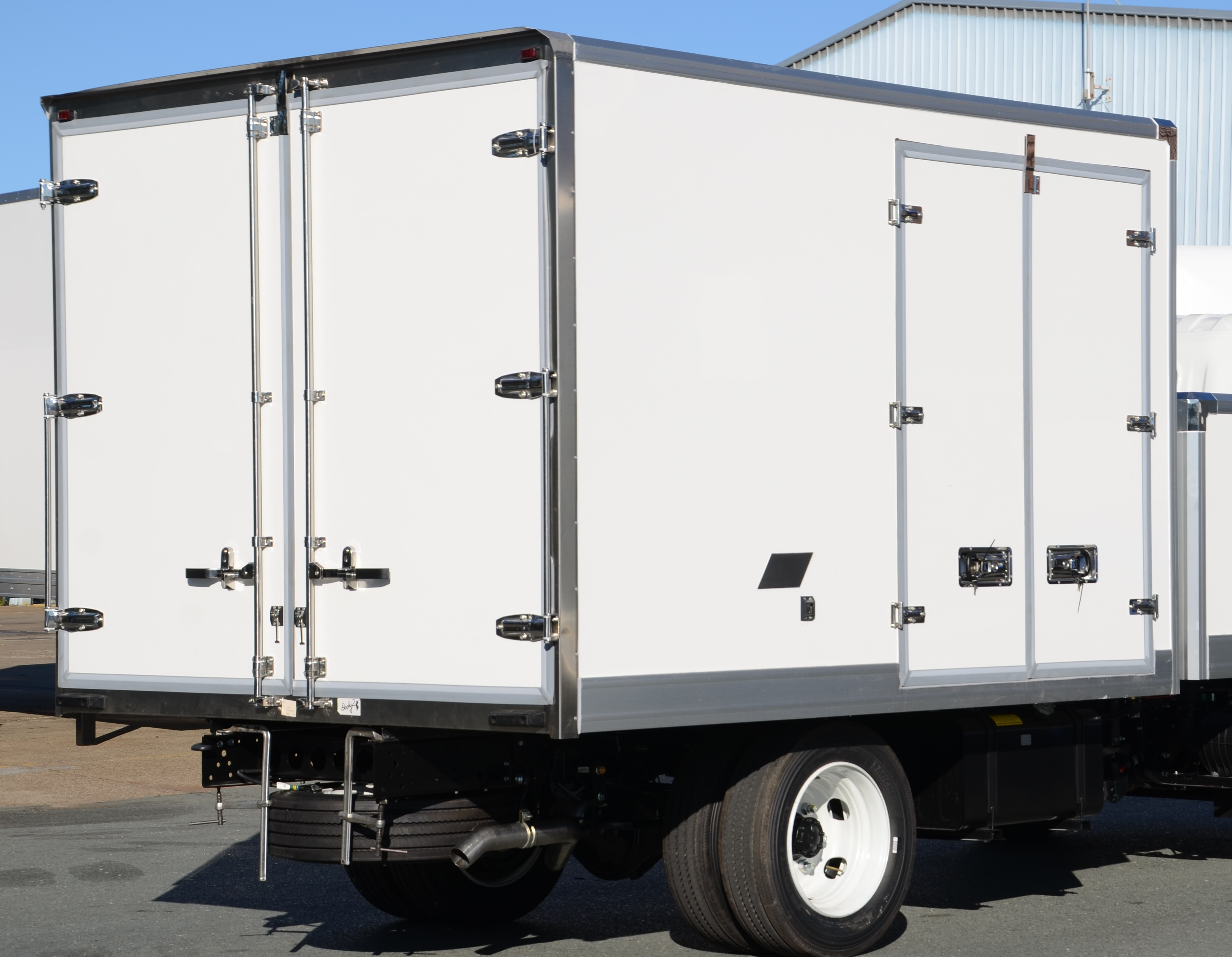 4 Pallet Refrigerated Truck Body