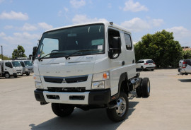 Fuso Canter 4X4  + INSTANT ASSET WRITE OFF 4X4 CREW CAB