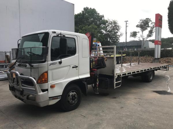 2007 Hino Ranger Pro 6 260 Ace Truck