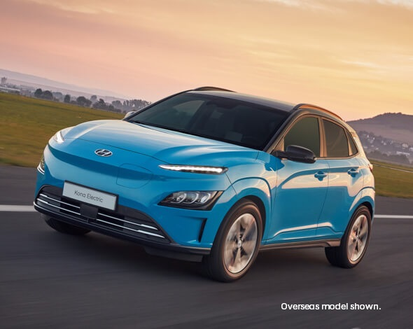 The new Hyundai KONA Electric. Image