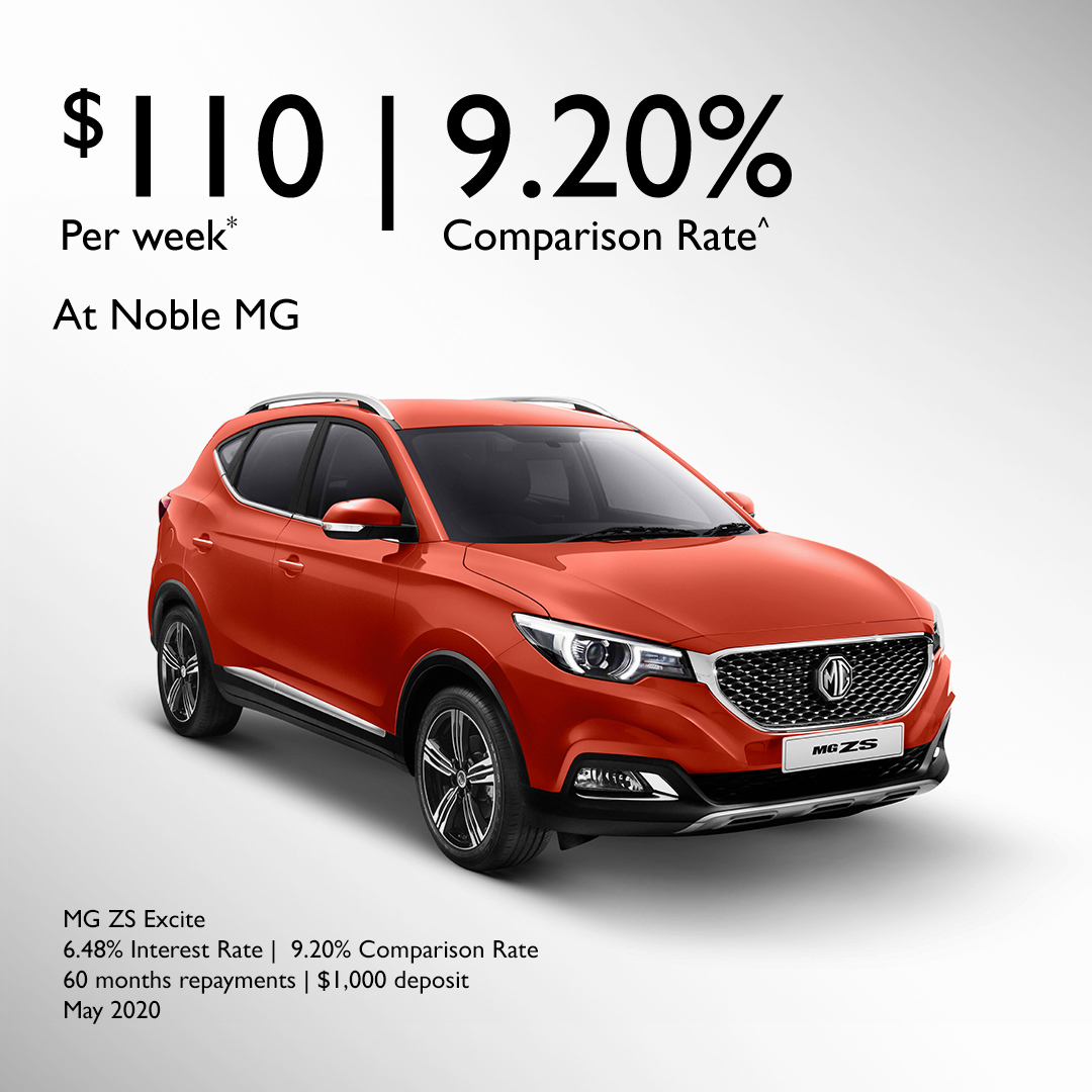 MG ZS EXCITE FINANCE OFFER