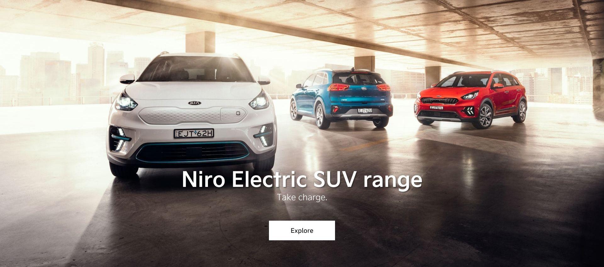 Niro Electric SUV range