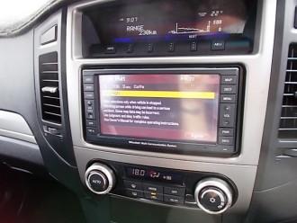 2011 Mitsubishi Pajero NT Turbo RX Wagon
