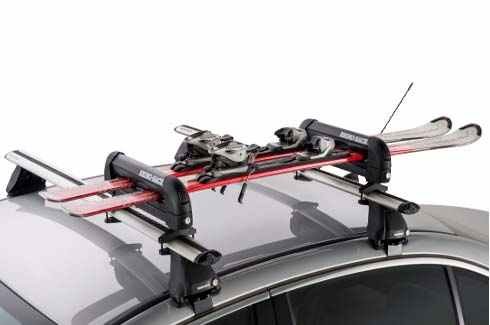 "<img src=""Rhino-Rack locking ski and snowboard carrier 2 skis"