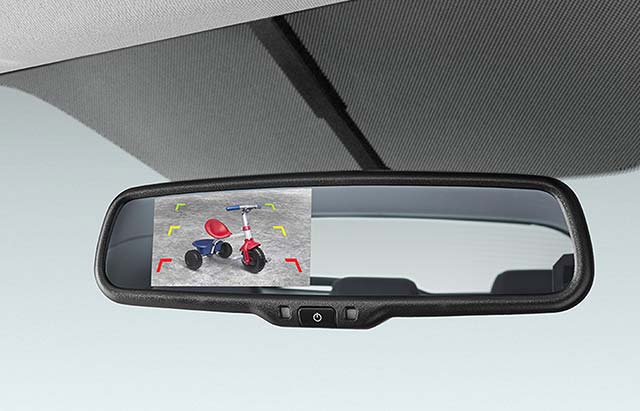 Mirror Integrated Parking Camera