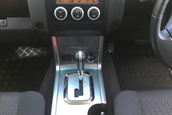2011 Nissan Navara D40 MY11 ST Utility