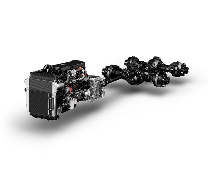 11 Litre Quon Advanced fuel-efficient driveline