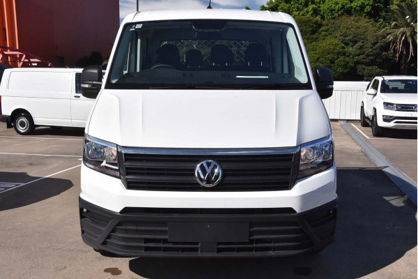 2019 Volkswagen Crafter SY1 35 Dual Cab LWB Cab chassis Image 3