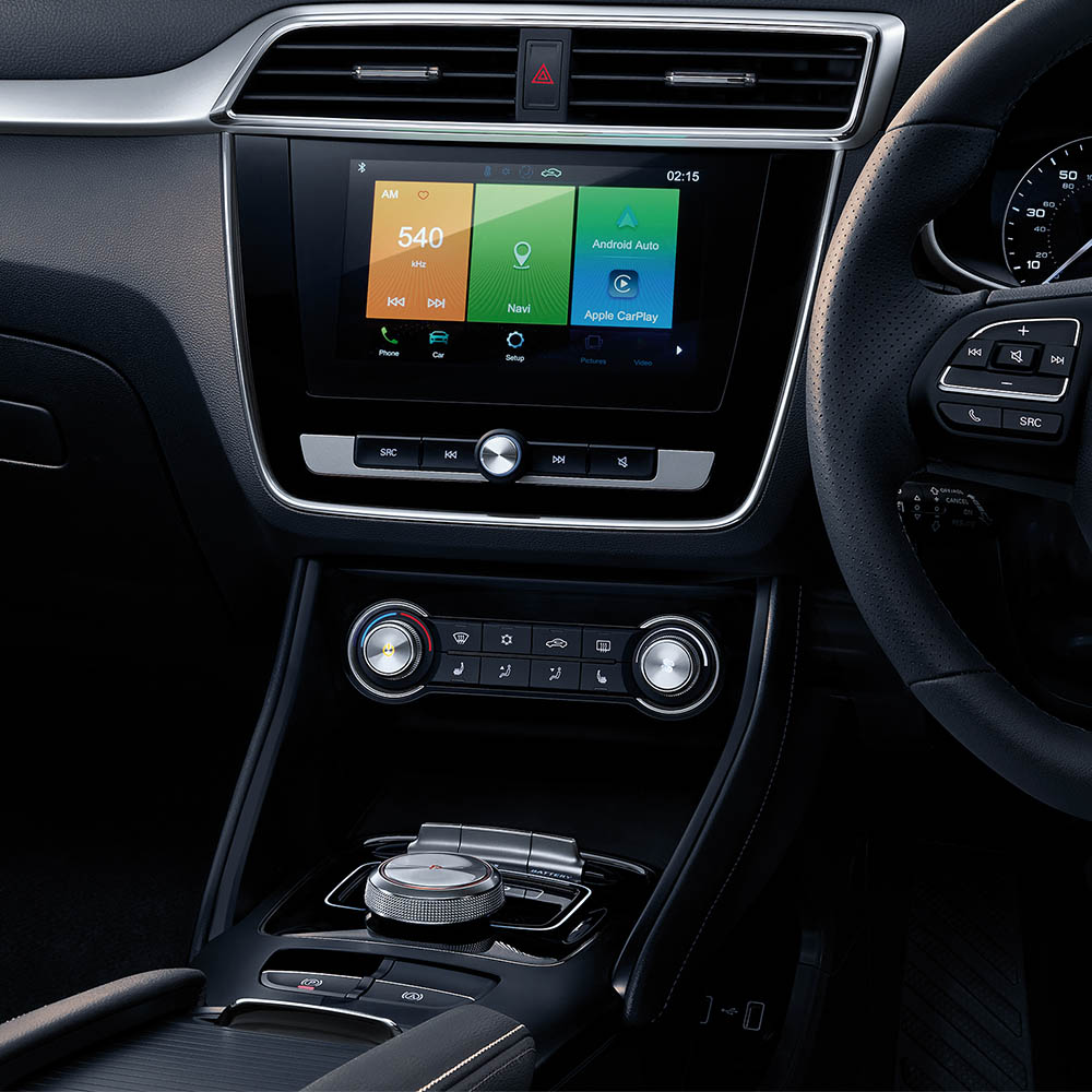 ZS EV High levels of technology