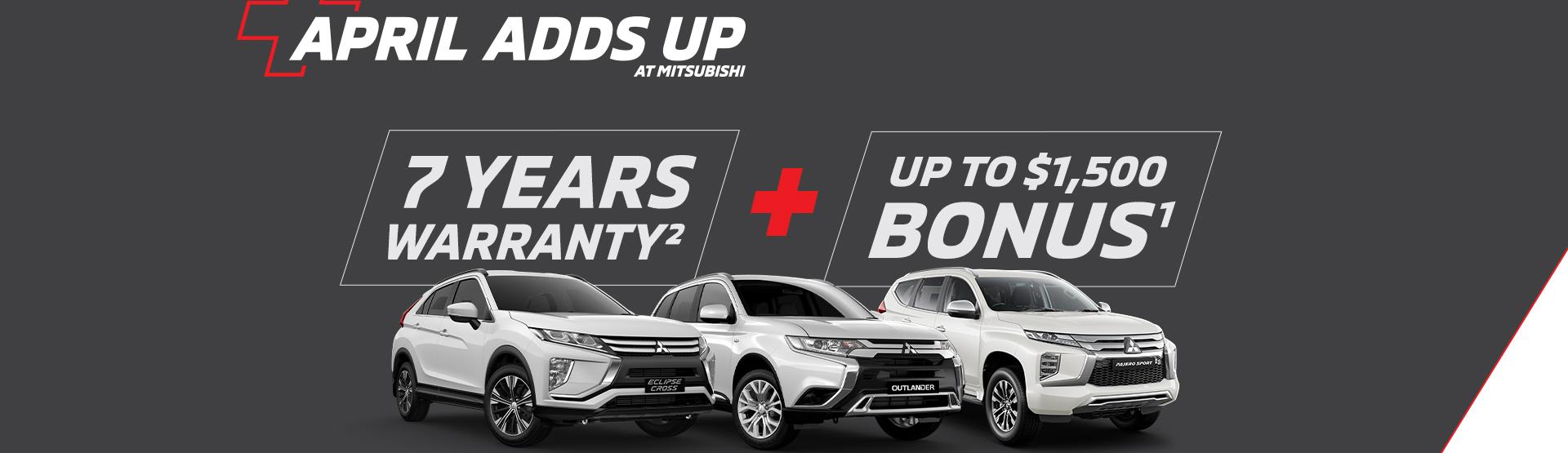 Mitsubishi Offers