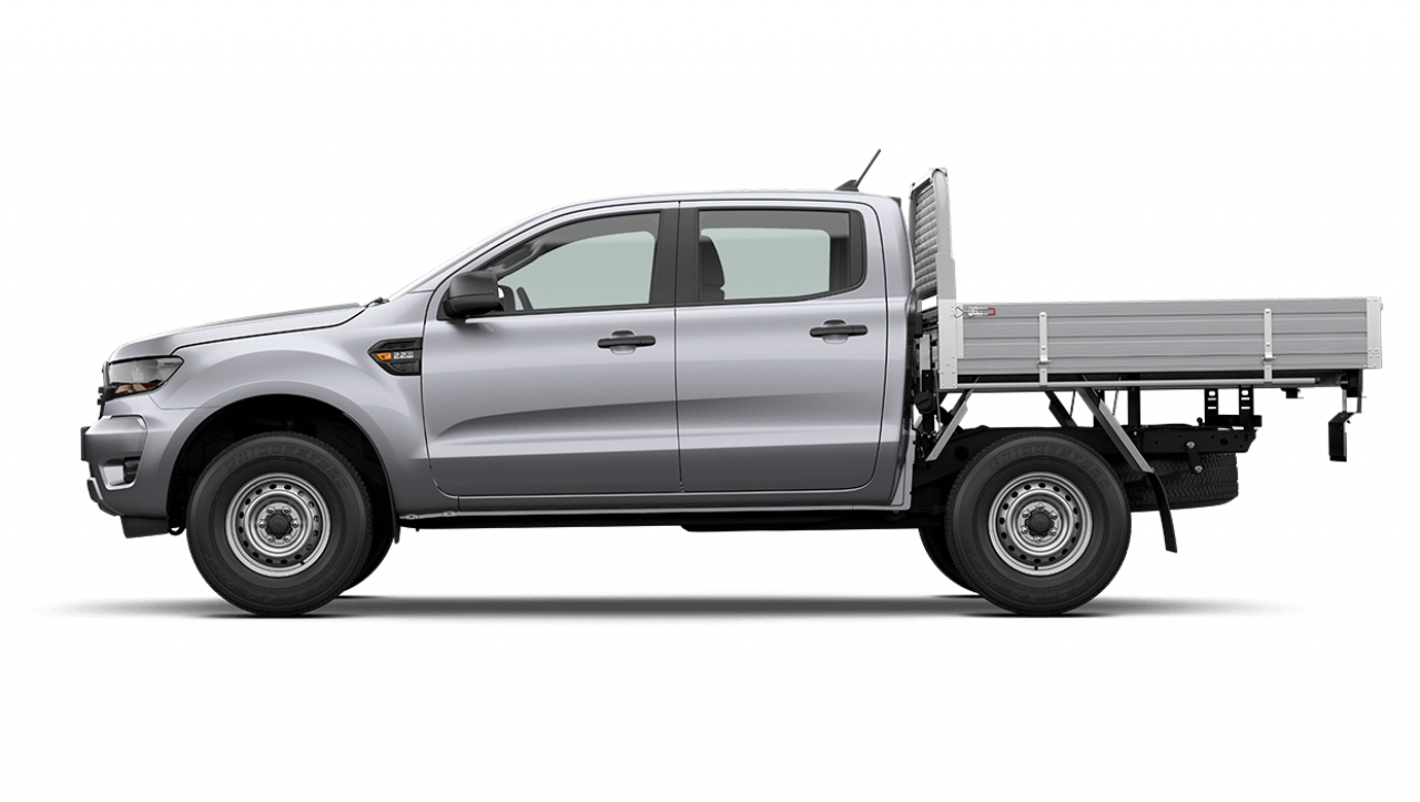 2020 MY21.25 Ford Ranger PX MkIII XL Double Cab Chassis Utility Image 7