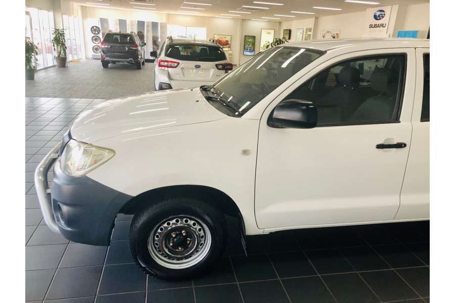 2009 Toyota HiLux TGN16R  Workmate Utility