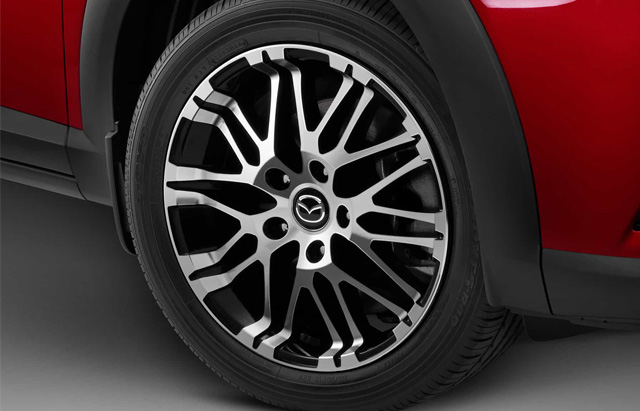 16-INCH MULTI-SPOKE ALLOY WHEEL