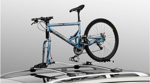 Bicycle holder + Wheel holder for fork mounting