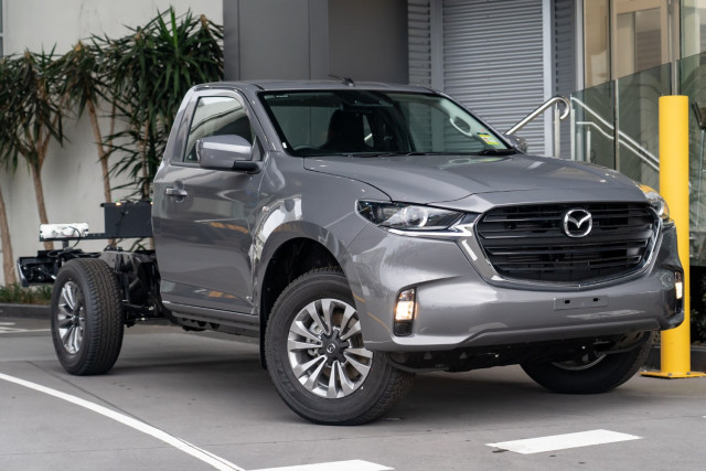 2021 Mazda BT-50 TF XT 4x4 Single Cab Chassis Cab chassis Mobile Image 1